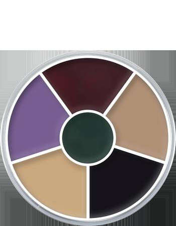 Cream Color Circle Kryolan Professional Make Up