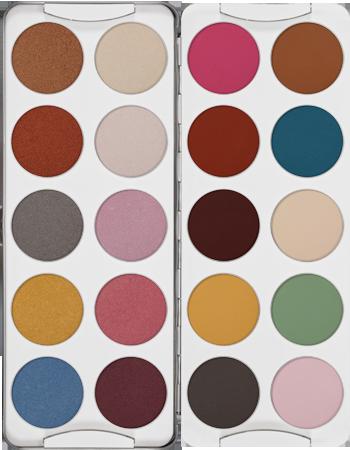 Eye Shadow Palette 20 Colors Kryolan Professional Make Up