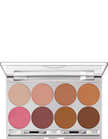 Glamour Glow Palette 8 Colors Kryolan Professional Make Up