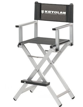 cantoni aluminum make up chair s102 a kryolan professional make up
