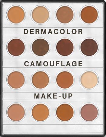 Dermacolor Camouflage Creme Mini Palette 16 Colors Kryolan